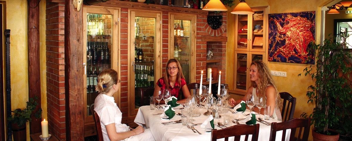 Das Mittagsbuffet Im Restaurant Rudolf